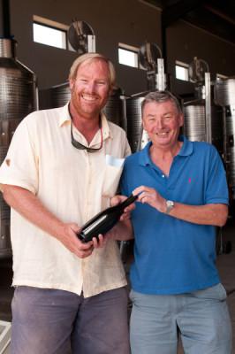 1st Bottle of Pinot Noir at Elgin Ridge