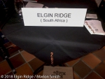 Elgin Ridge ready for tasting at Wine village