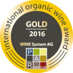 Gold 2016 International Organic Wine Award