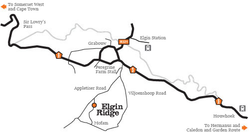 Elgin Ridge Map