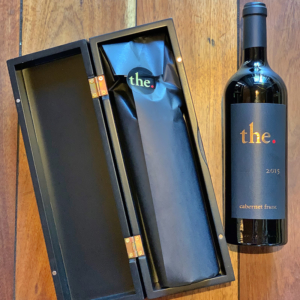 Individually packaged bottle of The. Cabernet Franc 2015